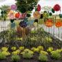 Dévoilement de l'oeuvre Un jardin secret à Vaudreuil-Dorion