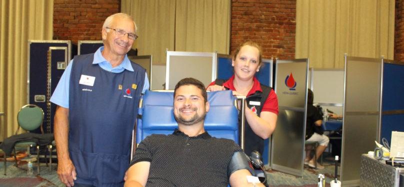 La collecte de sang du maire de Valleyfield les 5 et 6 juillet