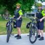 La patrouille à vélo du Service de police de Châteauguay est de retour
