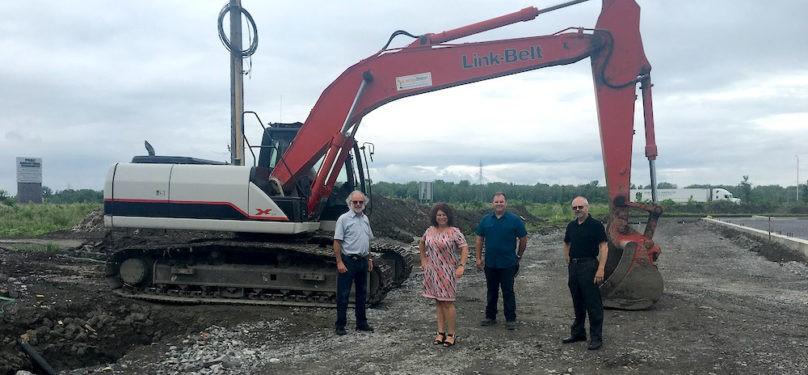 Parc industriel de Beauharnois – L'entreprise Lalonde et Brient amorce ses travaux