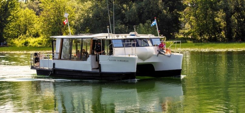 Nouveauté : Croisières guidées sur le fleuve à partir de Châteauguay