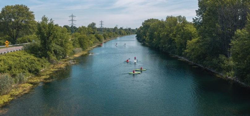 Descente du canal de Soulanges dans le cadre du mois de l'eau