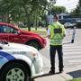 Opération de sensibilisation contre le cellulaire au volant à Beauharnois