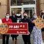 Record de vente des Biscuits Sourires Tim Hortons : 59 685 $ pour la Fondation de l'Hôpital