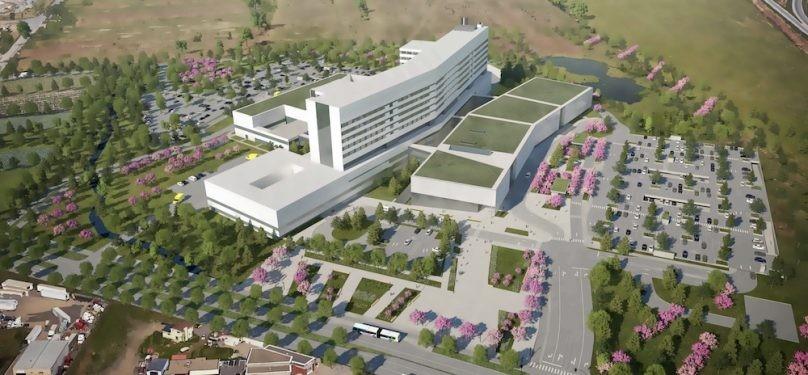 Coup d'envoi des travaux préparatoires de l'hôpital de Vaudreuil-Soulanges