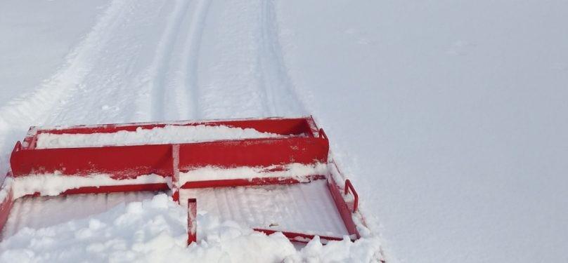 Des pistes de ski de fond dans les parcs de Mercier