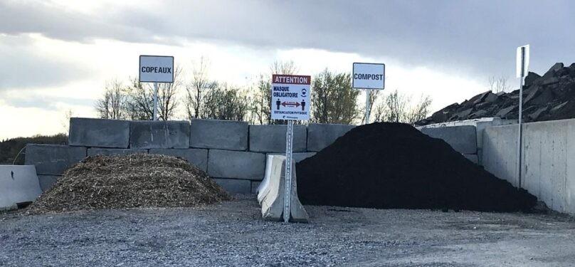 Châteauguay : Distribution de compost et de copeaux de bois