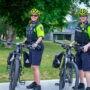 Patrouille à vélo pour le Service de police de Châteauguay