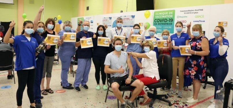Mission accomplie pour la clinique de vaccination de CEZinc