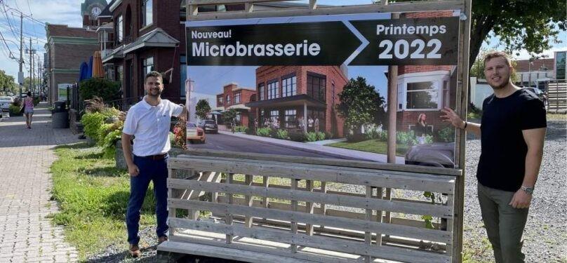 Nouvelle microbrasserie sur la rue Victoria