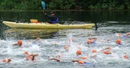 Triathlon Soulanges à Coteau-du-Lac - U13 en cours