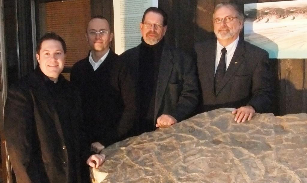 A Cassa, M Lacelle, P Groulx et C Haineault (Photo INFOSuroit.com)