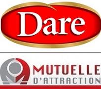 Aliments_Dare logo et Mutuelle_d_attraction logo publies par INFOSuroit