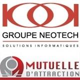 Groupe_Neotech logo et Mutuelle_d_attraction logo via INFOSuroit
