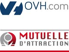 OVH_com et Mutuelle d_attraction logos pour INFOSuroit