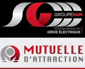 groupe SGM logo et Mutuelle d attraction logo via INFOSuroit
