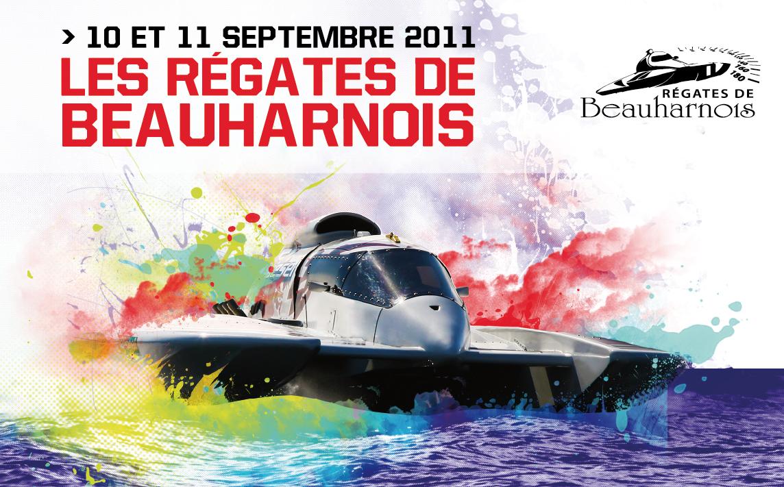 Regates Beauharnois_2011 visuel avec nouveau logo