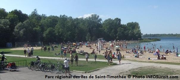parc-regional-des-iles-de-Saint-Timothee-plage-volleyball-velo-Photo-INFOSuroit-com_