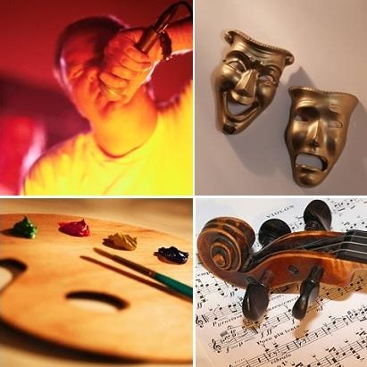 Arts-chanteur-theatre-peinture-musique-violon_image_CPA