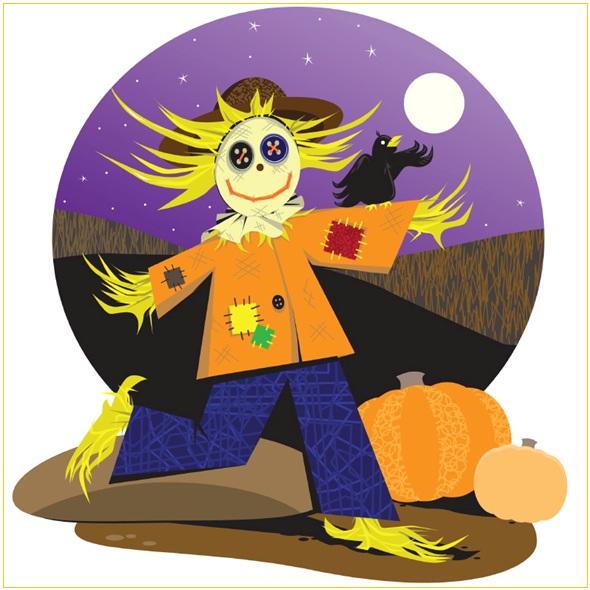 Halloween image CPA publiee par INFOSuroit-com_