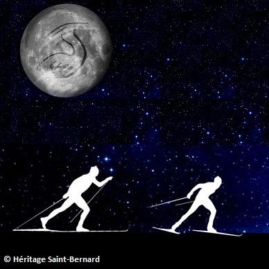 Ski de fond au clair de lune Montage Heritage Saint-Bernard publiee par INFOSuroit.com_