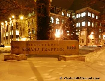 Bibliotheque Armand-Frappier du College de Valleyfield Photo INFOSuroit.com_