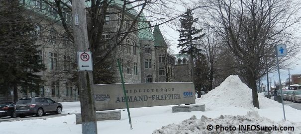 College de Valleyfield et Bibliotheque Armand-Frappier Photo INFOSuroit.com_