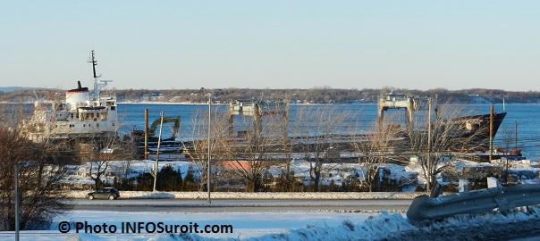 Vieux cargo Kathryn Spirit a Beauharnois vue du parc industriel Photo INFOSuroit.com_