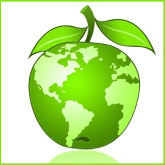 recyclage-vert-terre-planete-environnement-pomme-Image-CPA-publiee-par-INFOSuroit-com_