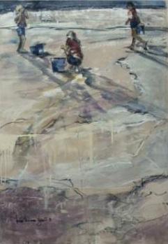 Louise-Lachance-Legault-artiste-peintre-La-plage-Photo-publiee-par-INFOSuroit-com_