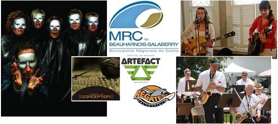 MRC-fonds-culturel-2012-soutien-financier-aux-artistes-Montage-logos-photos-INFOSuroit-com_