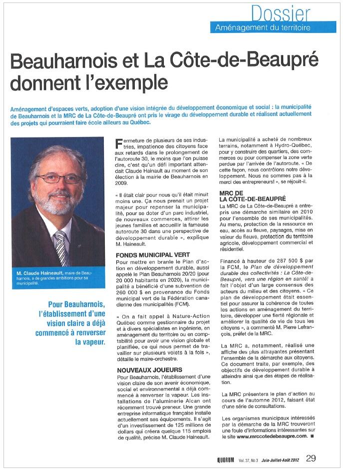 Magazine-QUORUM-ete-2012-Claude-Haineault-Beauharnois-publie-par-INFOSuroit-com_