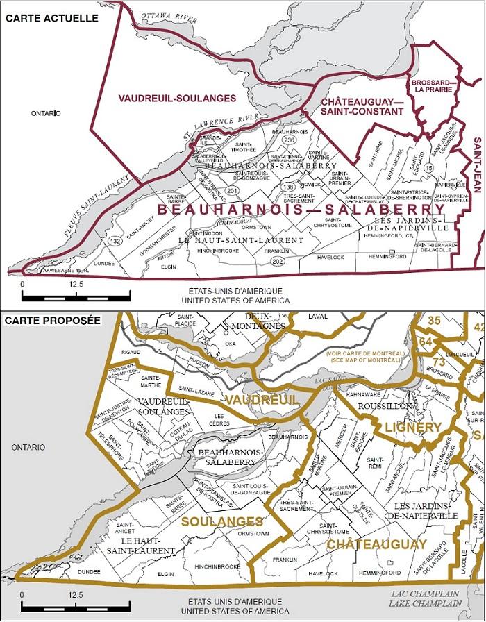 Redecoupage-cartes-electorales-federale-Actuelle-et-Proposee-pour-Beauharnois-Salaberry-Cartes-publiees-par-INFOSuroit-com_