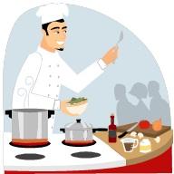 Chef-cuisnier-demonstration-Image-CPA-publiee-par-INFOSuroit-com_