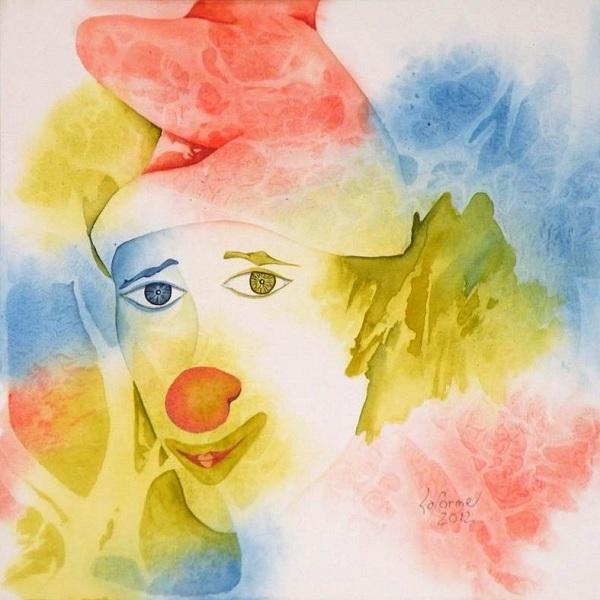 Louise-Laforme-aquarelliste-tableau-Paillasse-2012-Photo-MRC-publiee-par-INFOSuroit-com_