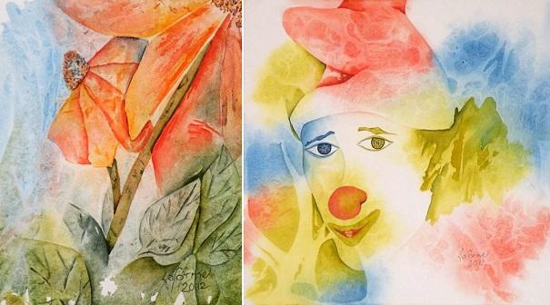 Louise-Laforme-tableaux-Elles-m-ensoleillent-et-Paillasse-Photos-MRC-publiees-par-INFOSuroit-com_