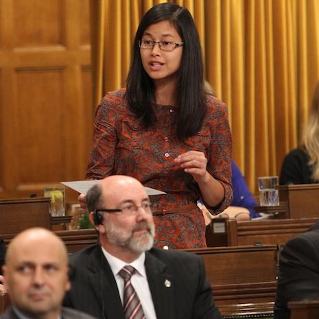 Anne-Quach-a-la-Chambre-des-Communes-a-Ottawa-Photo-courtoisie-publiee-par-INFOSuroit-com_