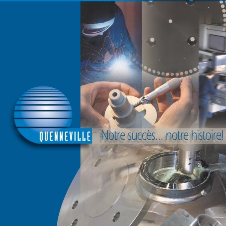 Atelier Usinage Quenneville Page couverture depliant publiee par INFOSuroit-com_