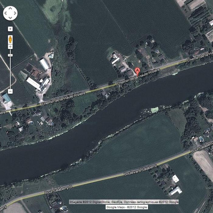 Image-Google-Maps-2012-Urgent-Danger-Fermeture-chemin-Haute-Riviere-Chateauguay