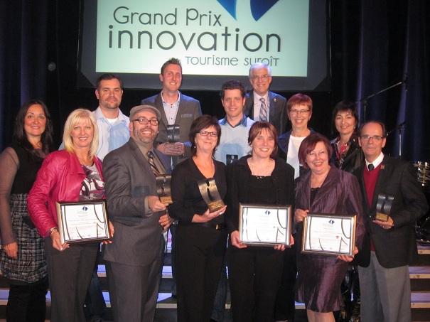 Les gagnants des Grand Prix Innovation 2012 de Tourisme Suroit Photo INFOSuroit_com