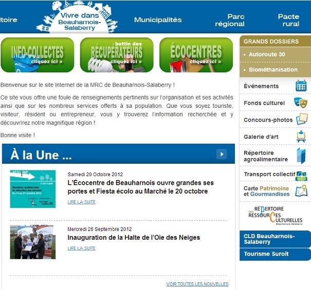 Nouveau-site-Web-2012-MRC-Beauharnois-Salaberry-Capture-ecran-INFOSuroit-com_