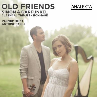 Valerie_Milot et Antoine_Bareil-Old_Friends_Simon_&_Garfunkel-Pochette-d-album-publiee-par-INFOSuroit