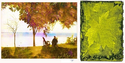 creation-Julika Winkler-ile-St-Bernard-et-oeuvre-de-Roger-Winkler-feuilles-Photos-courtoisie-publiees-par-INFOSuroit-com_