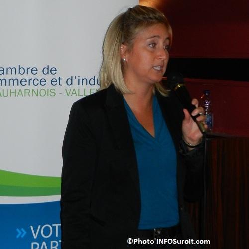 Assemble 2012 Genevieve Chevrier presidente de la Chambre Photo INFOSuroit-com_