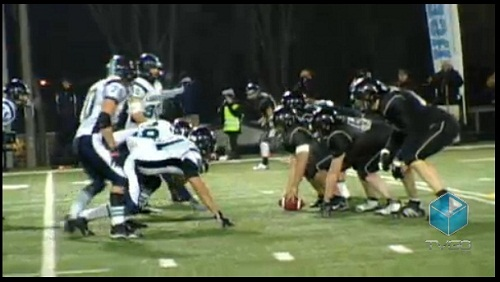 Finale Football collegial Bol_d_Or 2012 Lanaudiere face a Valleyfield Image extrait TVGO_ca