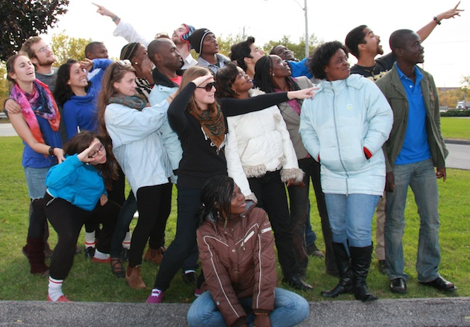 Participants automne 2012 Jeunesse Canada Monde a Valleyfield Photo courtoisie