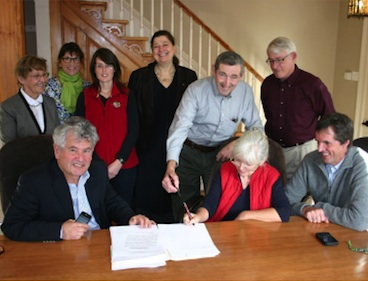 Signature Partenariat CNC Nichoir Hudson Photo courtoisie publiee par INFOSuroit