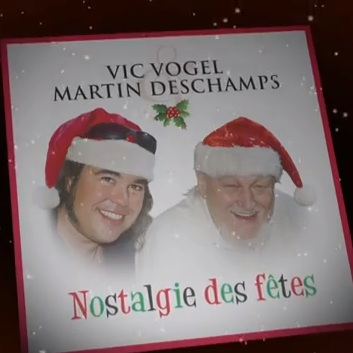 Vic Vogel Martin Deschamps pochette Nostalgie des Fetes Photo extrait YouTube 529Jazz