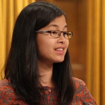 Anne Quach a la Chambre des communes a Ottawa Photo courtoisie publiee par INFOSuroit