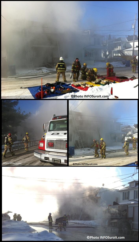 Incendie-rue-Perreault-Valleyfield-pompiers-fumee-feu-Montage-Photos-INFOSuroit_com